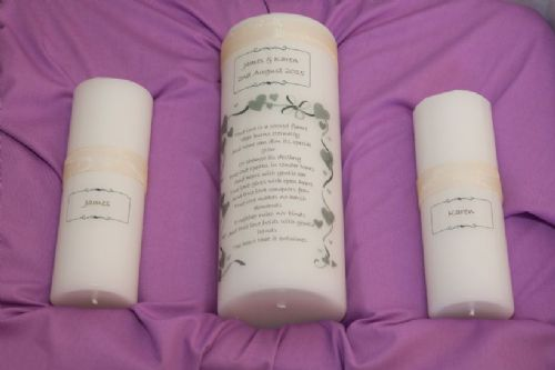The Unity Candle Collection